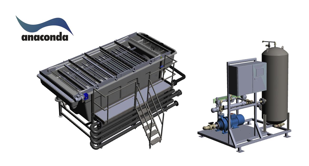 dissolved air flotation unit range