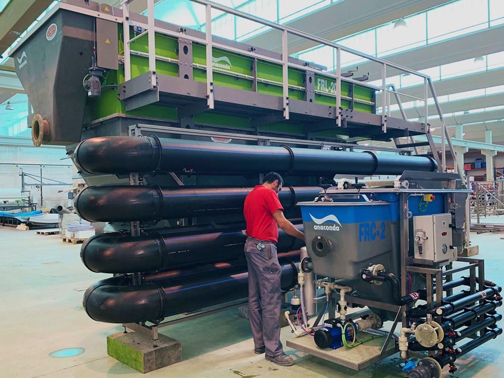 flotador por aire disuelto toro equipment