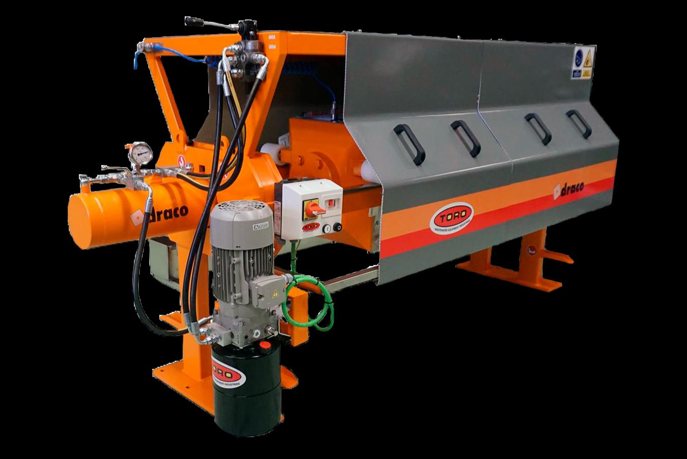 semi automatic filter presses